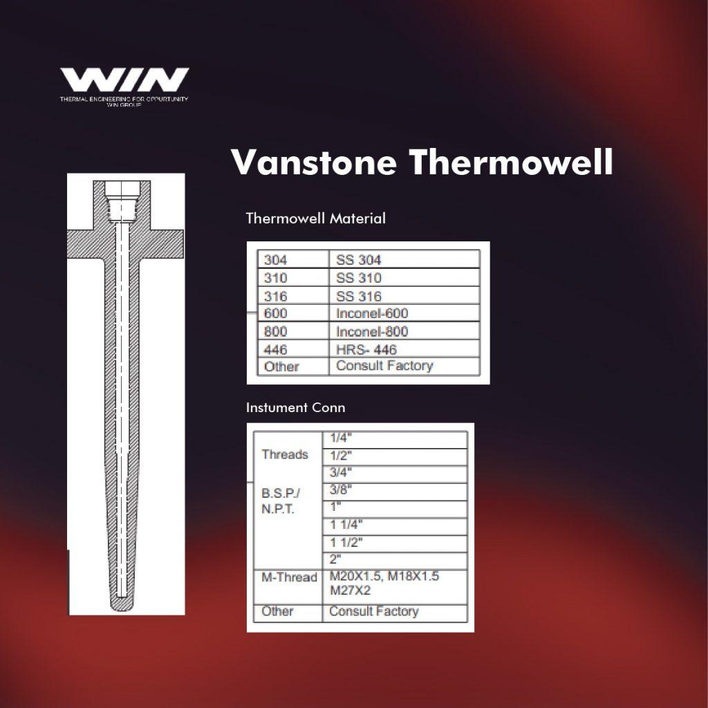 Vanstone thermowell